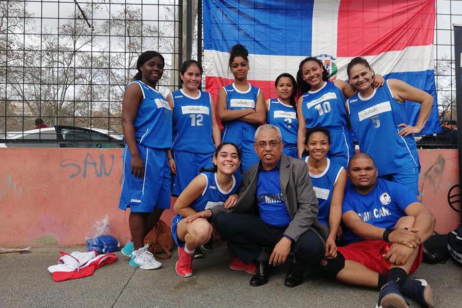 Baloncesto dominicano femenino valencia